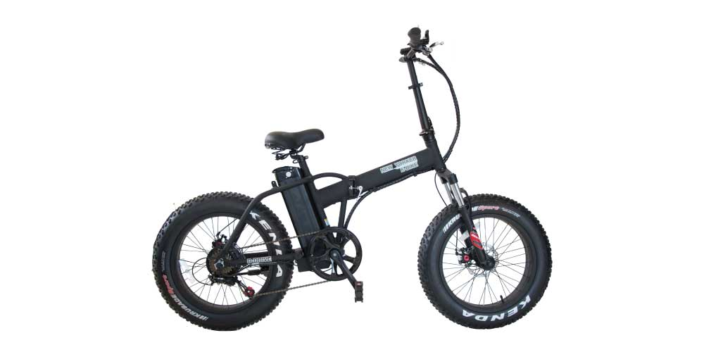 Daymak New Yorker Fat Tire Folding Electric Bicycle