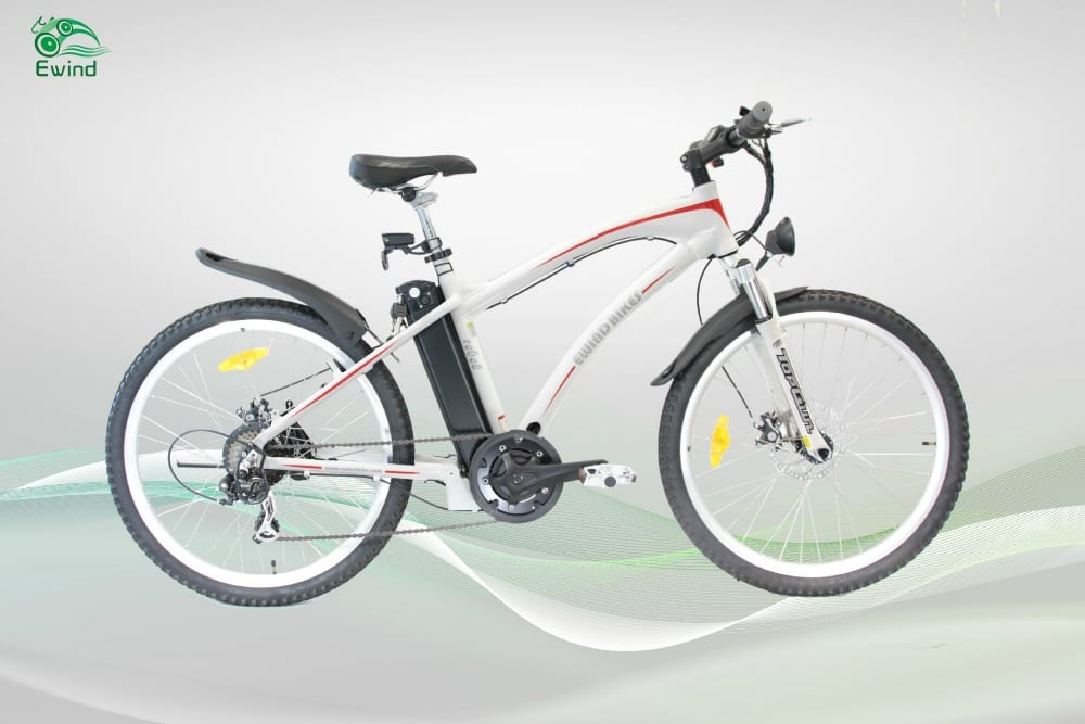 2015 Tao Tao Rebel 202 Electric Bike White