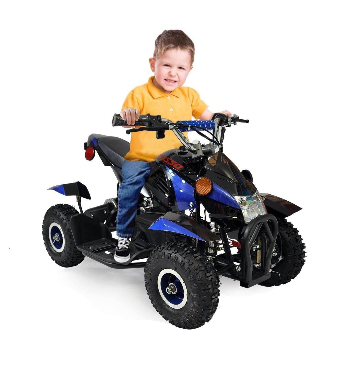 Gio rosso sport 500 watt electric kids atv edmonton atv for Motorized quad for toddler