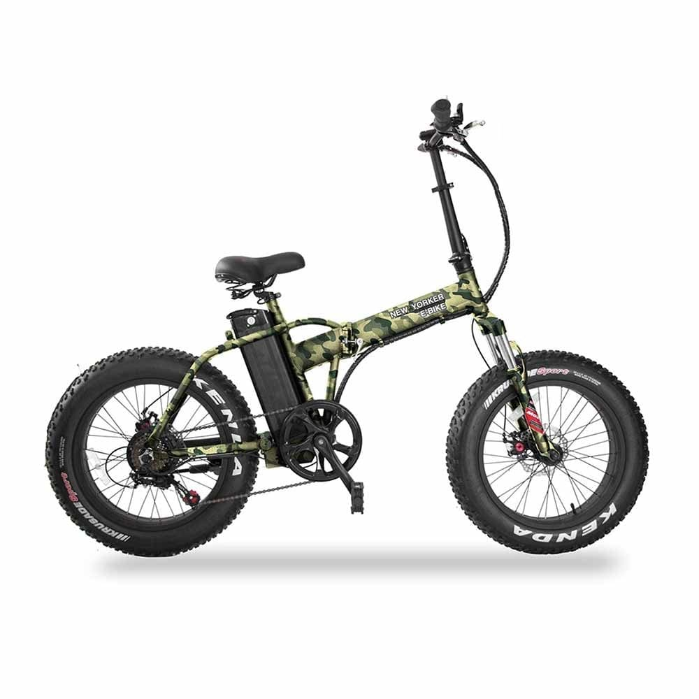 Daymak New Yorker 350 Watt Fat Tire Folding Electric Bicycle 1