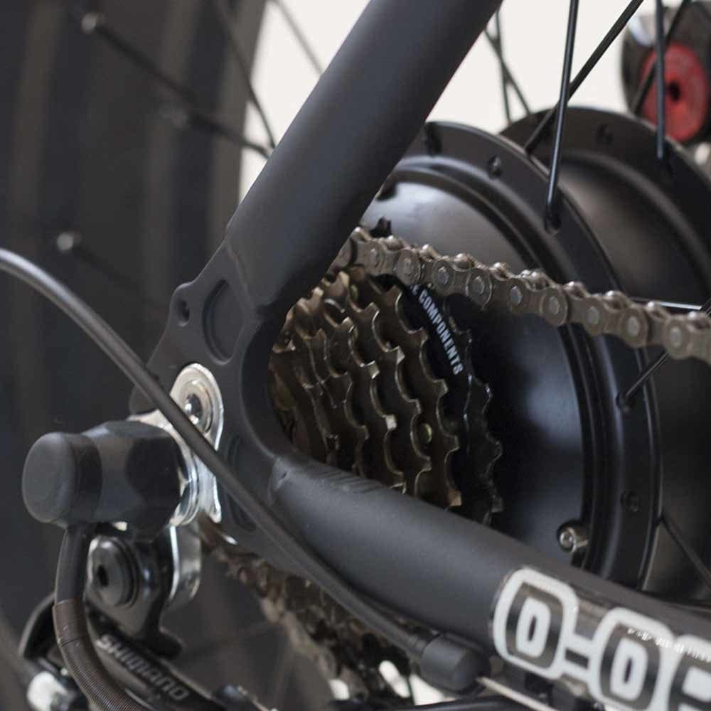 Daymak New Yorker 350 Watt Fat Tire Folding Electric Bicycle