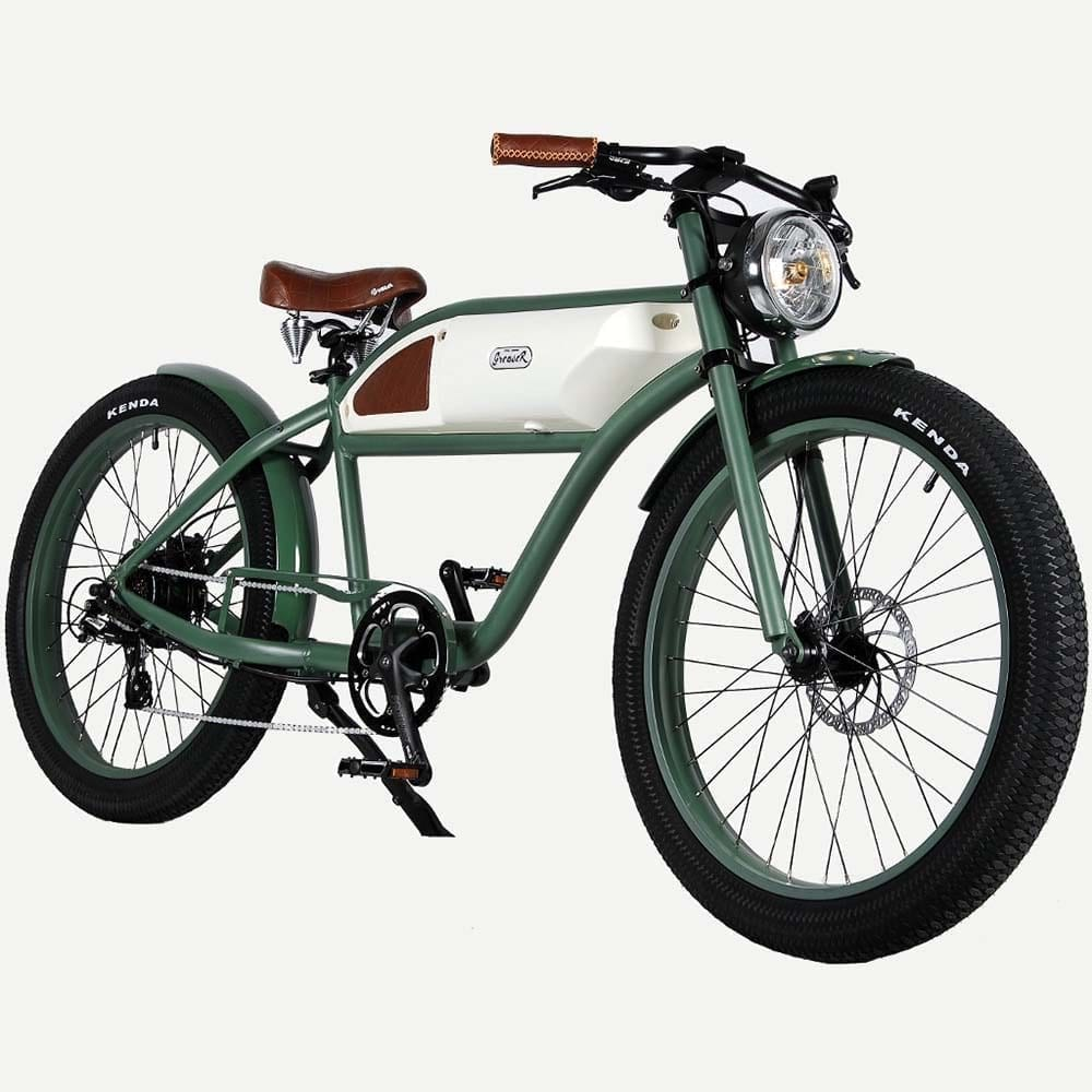 Greaser Fat Tire Racer Style E-bike