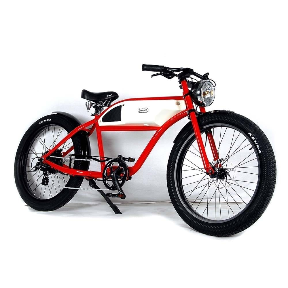Greaser Fat Tire Racer Style E-bike 1