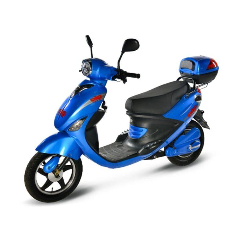 Gio Italia 500 Watt Electric Scooter Blue