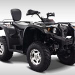 Hisun Forge 700cc ATV Black Front