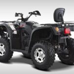 Hisun Forge 700cc ATV Black Rear
