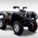 Hisun Forge 700cc ATV Green Camo Front