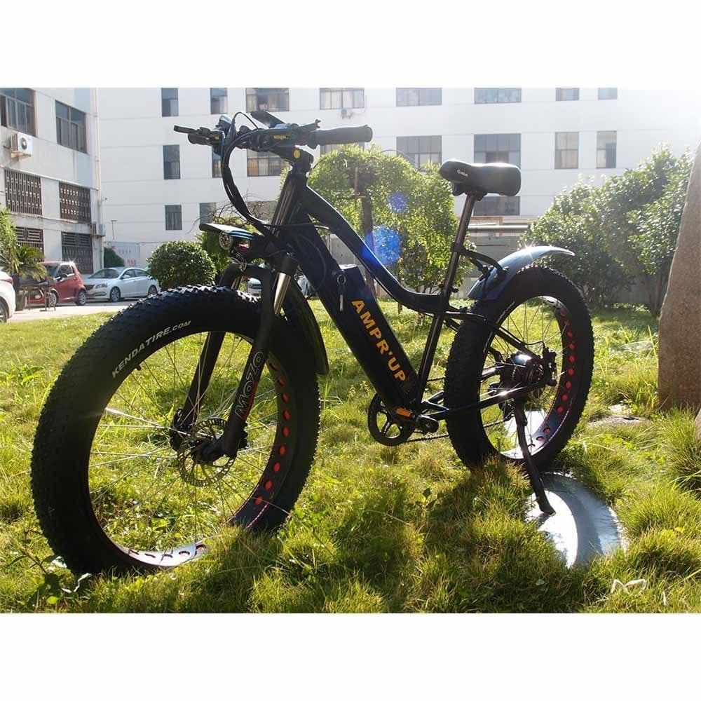 AMPR'UP 500Watt Fat Tire Electric Bike 1