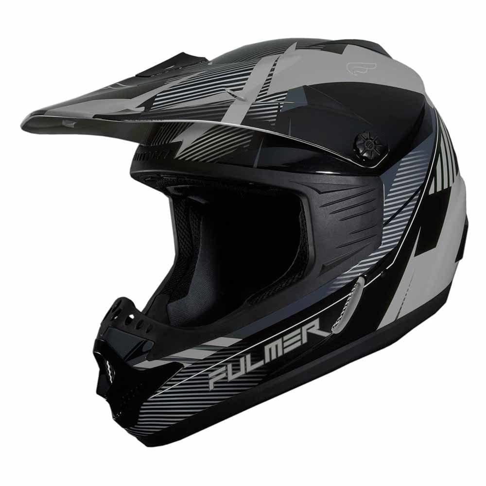 Fulmer 202 Edge - Grey Helmet 1