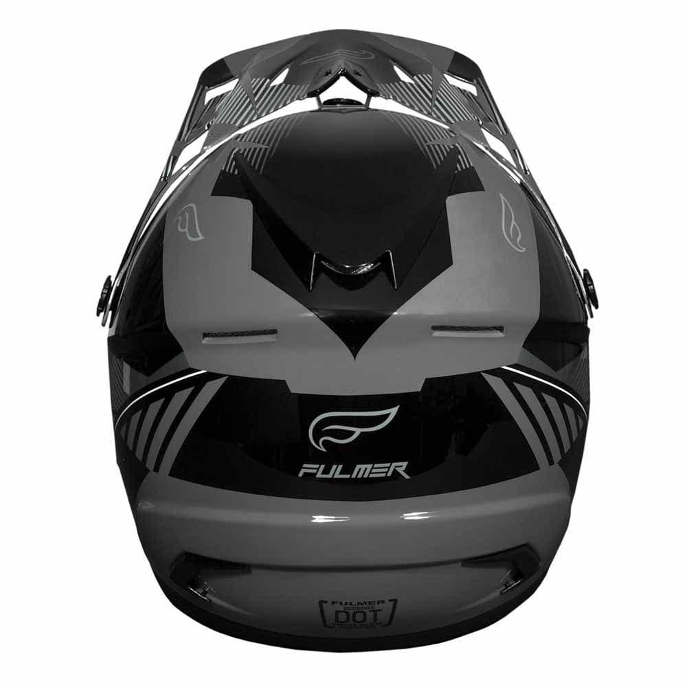 Fulmer 202 Edge - Grey Helmet