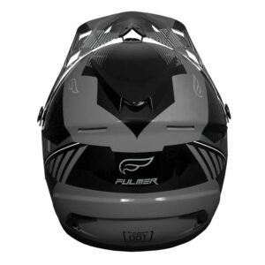 Fulmer 202 Edge - Grey Helmet 4