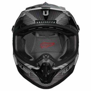 Fulmer 202 Edge - Grey Helmet 3