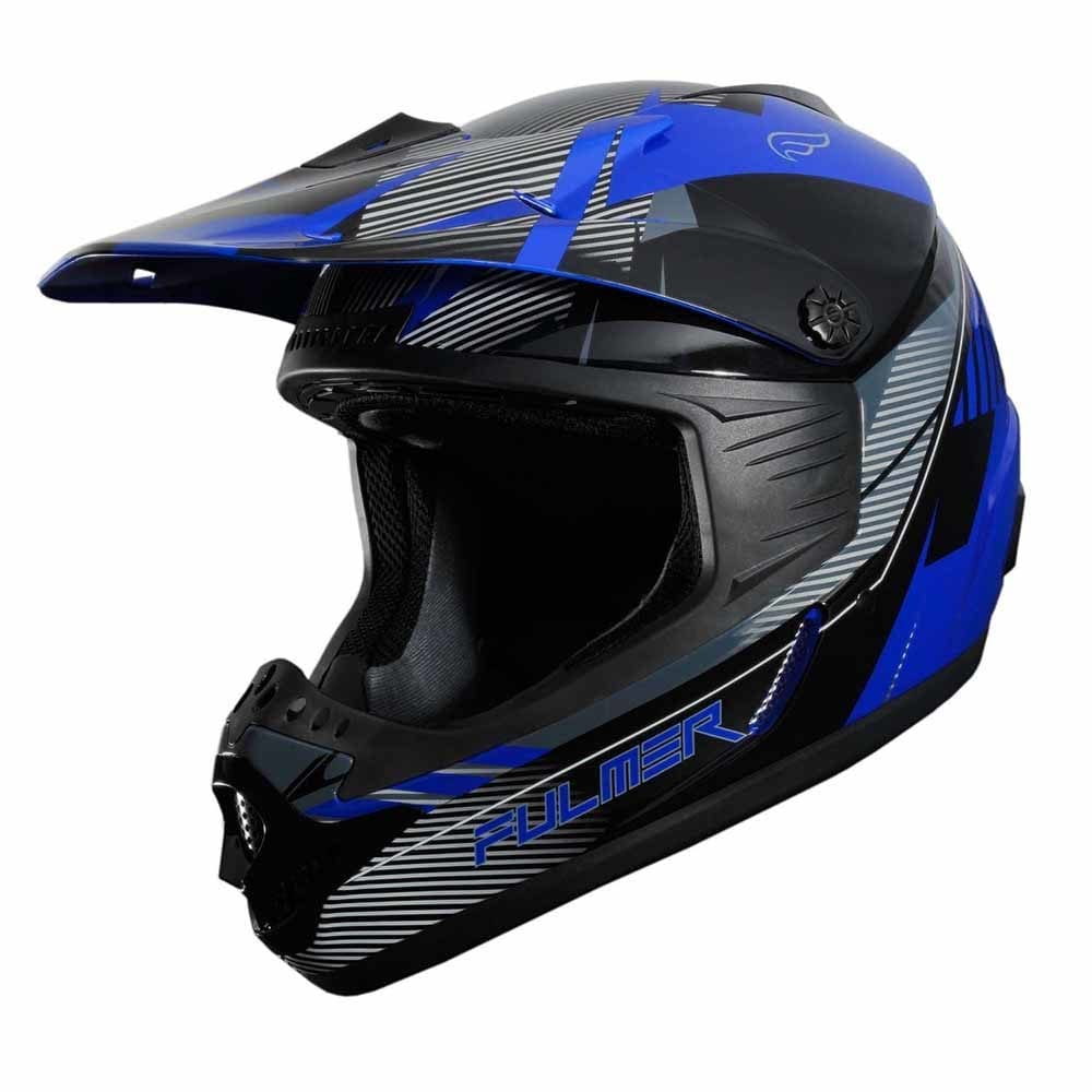 Fulmer 202 Edge - Blue Helmet