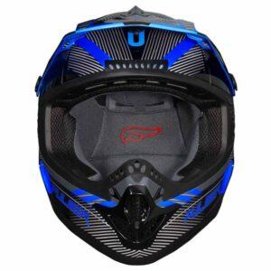 Fulmer 202 Edge - Blue Helmet 2