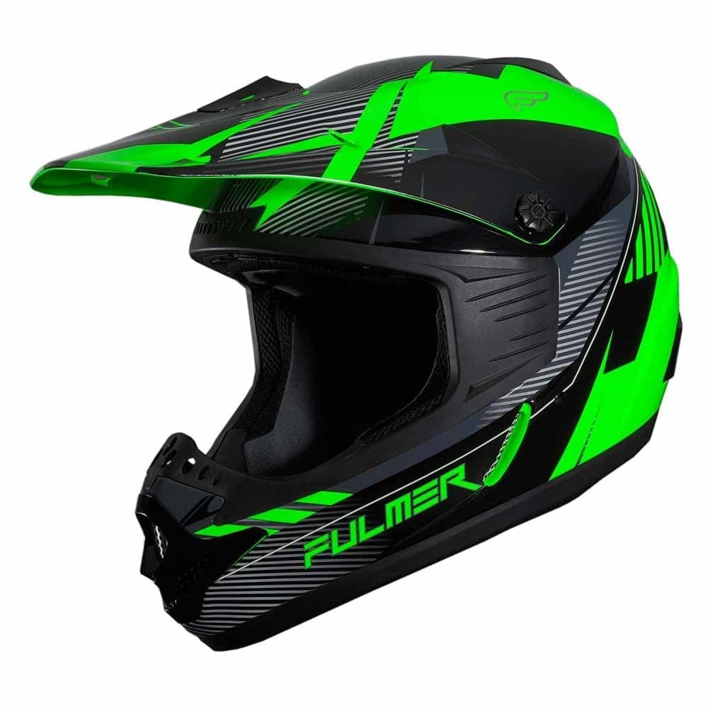 Fulmer 202 Edge - Green Helmet 1