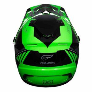 Fulmer 202 Edge - Green Helmet 2