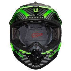 Fulmer 202 Edge - Green Helmet 3