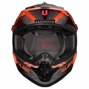 Fulmer 202 Edge - Orange-Helmet 2