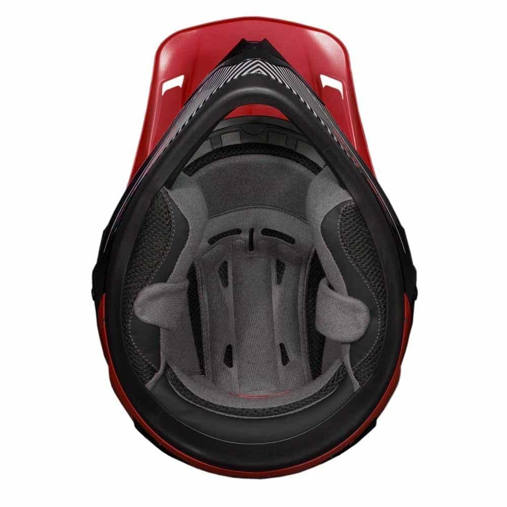 Fulmer 202 Edge - Red Helmet