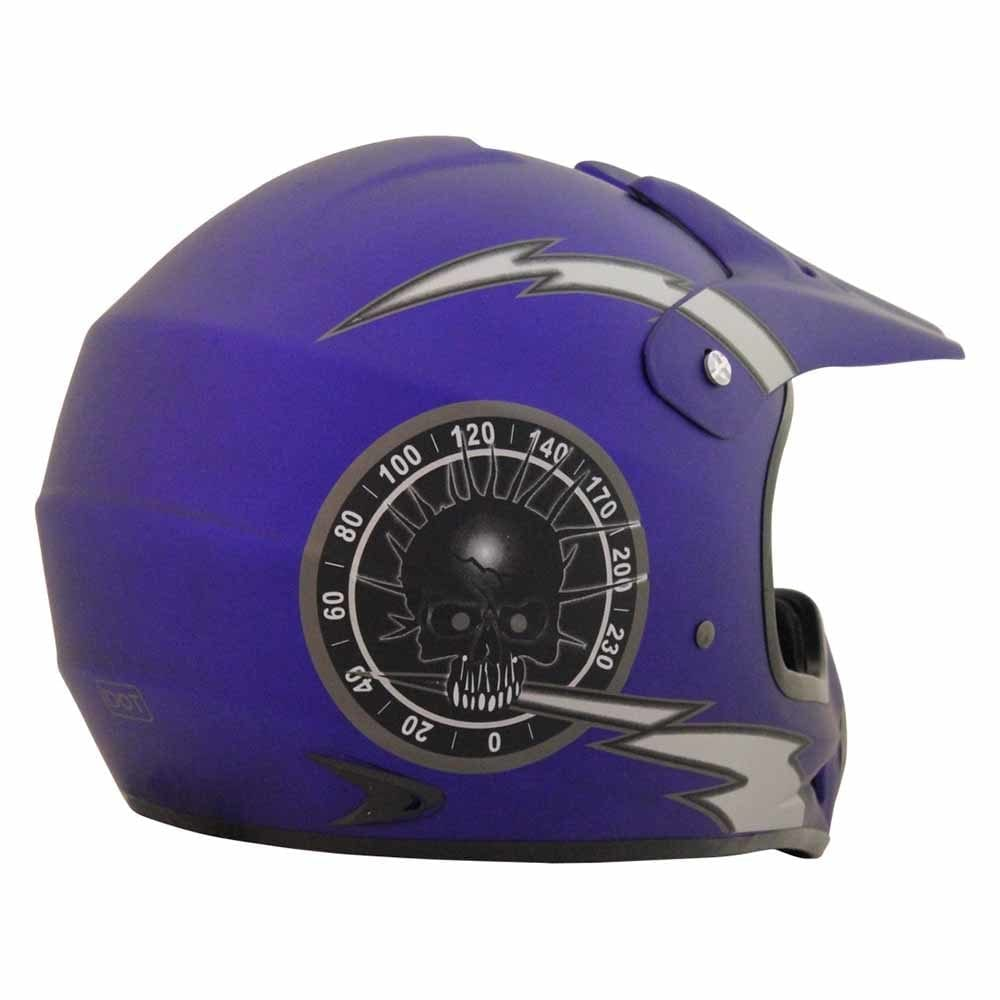PHX Vortex - Blue Overclock Helmet