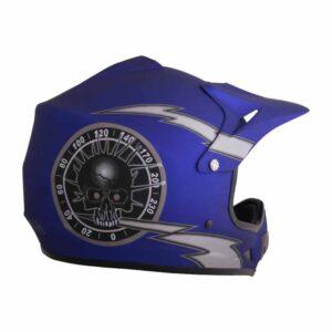 PHX Zone 3 - Blue Overclock Helmet 2