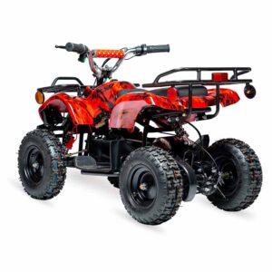 Rosso Utility Electric Kids ATV 2
