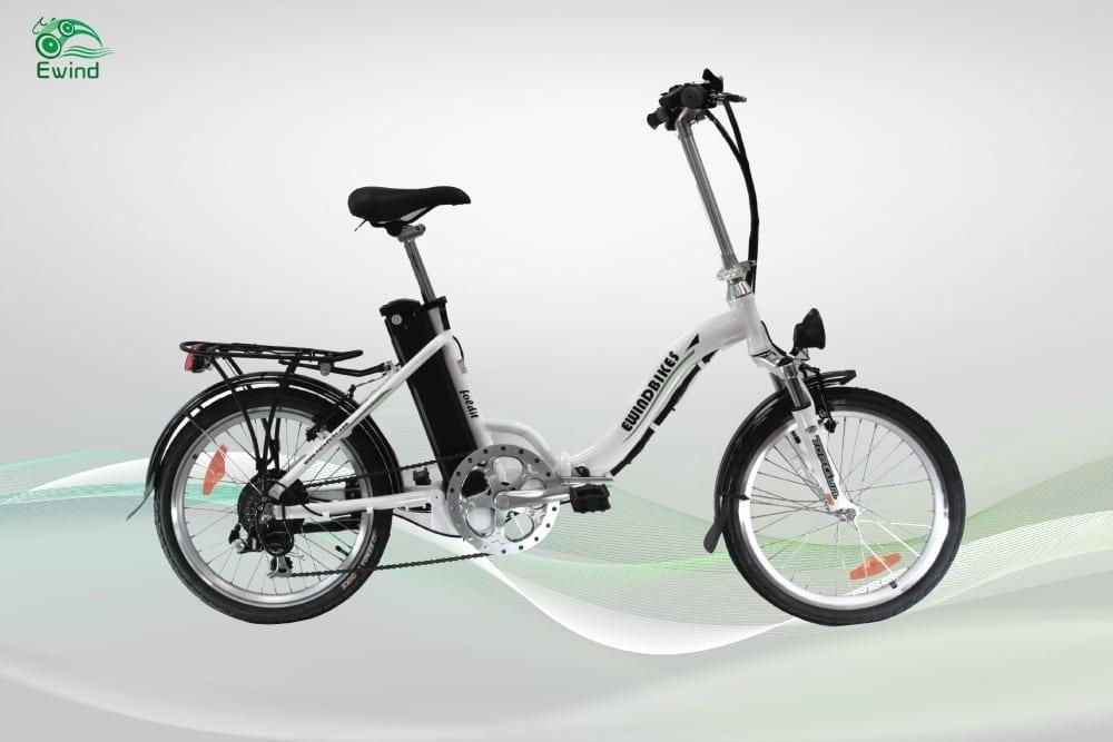 Tao Tao Foldit 205 Electric Bike White